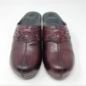 Dansko open back clogs - size 9